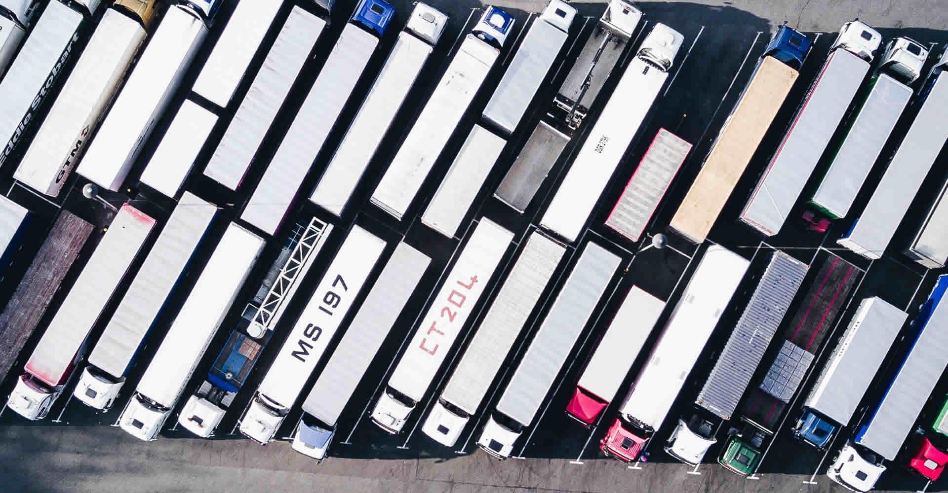 trucks-parked