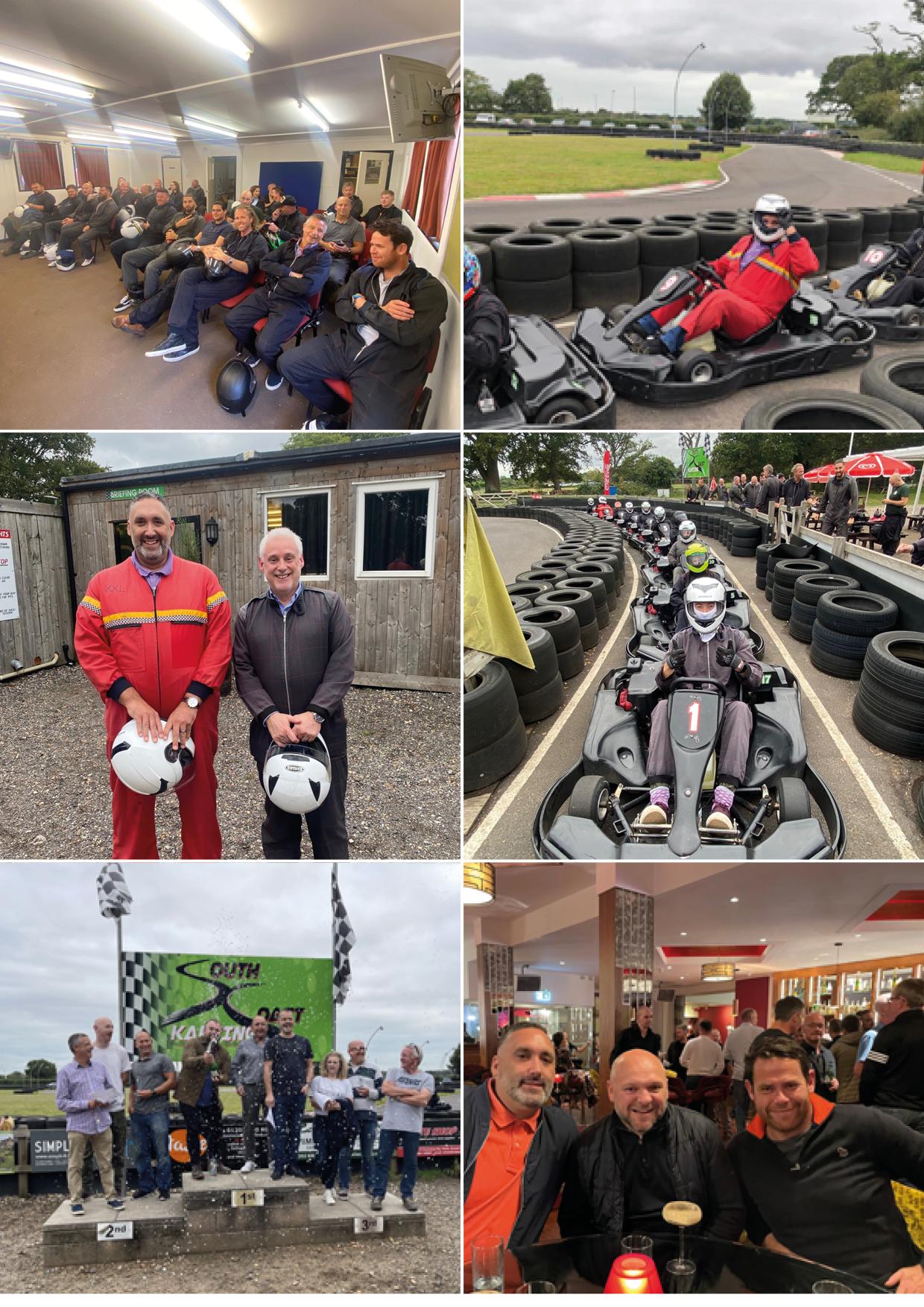 Southcoast Karting Customer Event